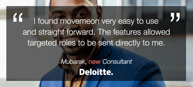Mubarak celebrates his new role at Deloitte UK