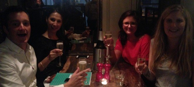 Natasha celebrates her new Product Manager job at Zopa, London