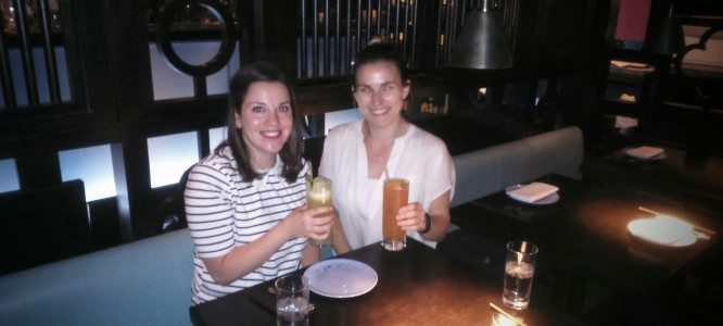 Sophie & Sophie celebrate their new strategy jobs at Pentland Brands