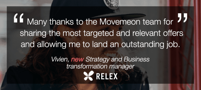 Vivien celebrates his new role at Rexel!