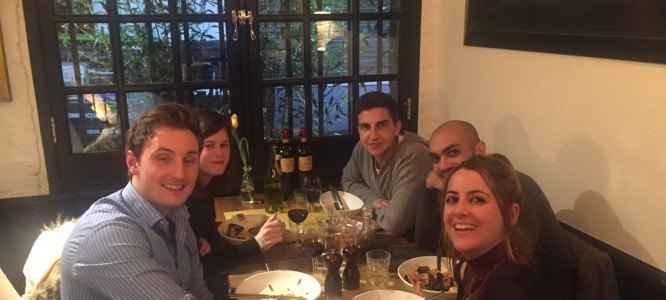 Youssef celebrates his new roles at a FinTech start-up
