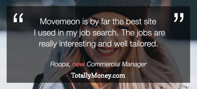Roopa celebrates her new role at TotallyMoney