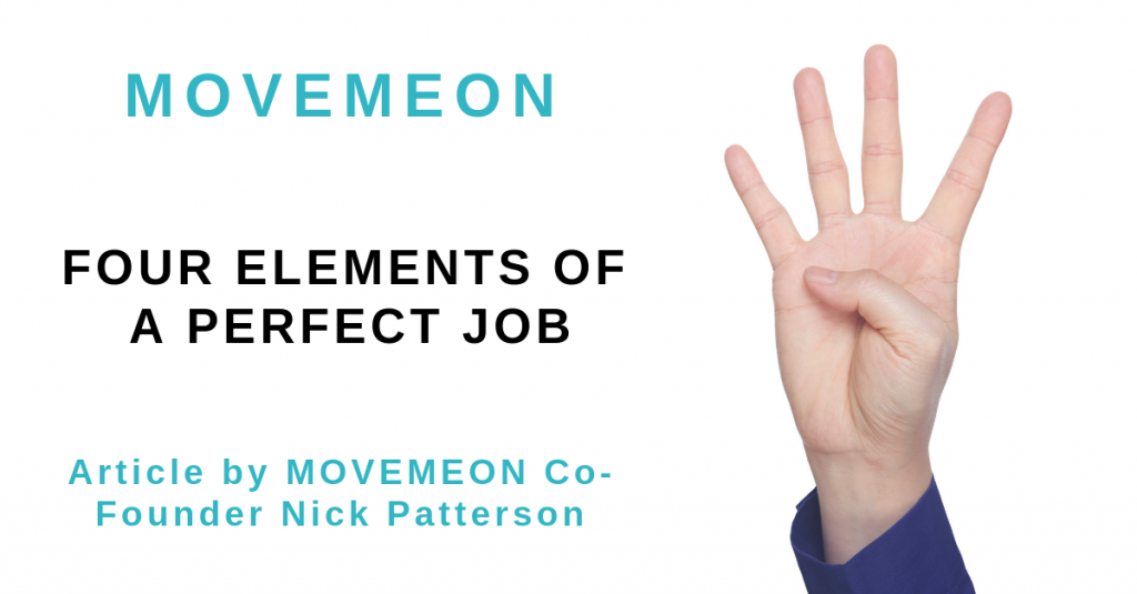 4 elements of a perfect job