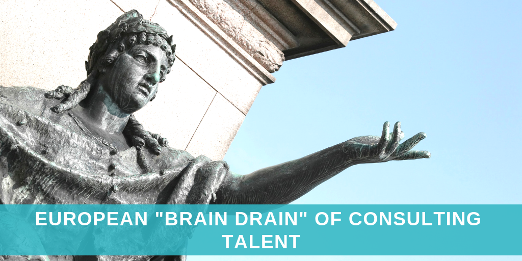 "The European ""brain drain"" of consulting talent"