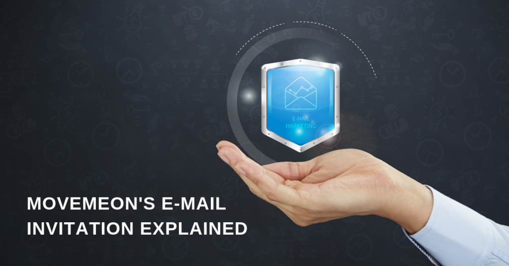 The Movemeon invitation e-mail explained