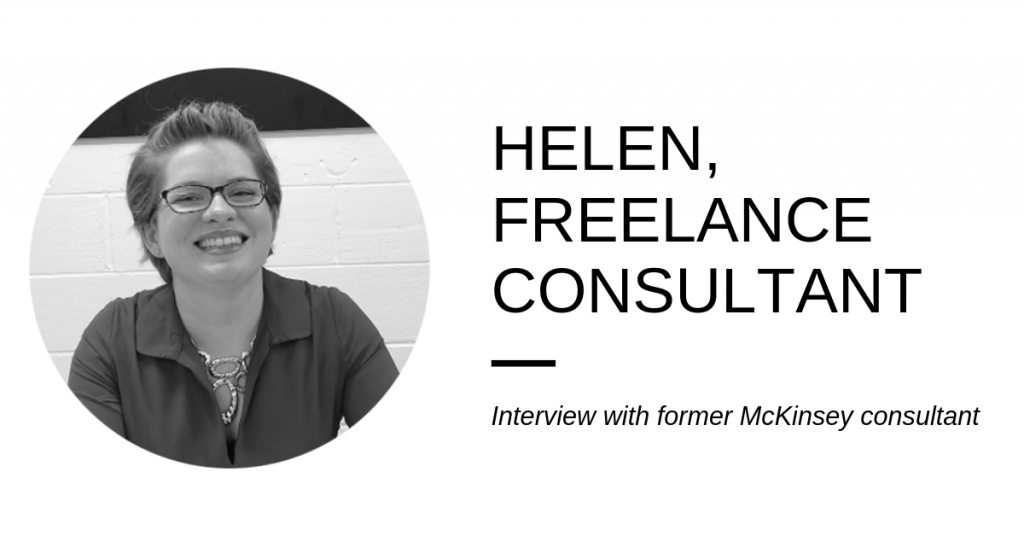 Freelance interview – from McKinsey to the non-profit sector