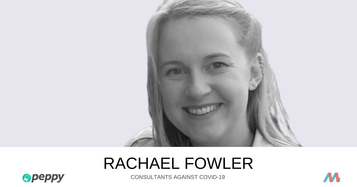 Consultants Against COVID-19: Rachael Fowler supports Peppy Health