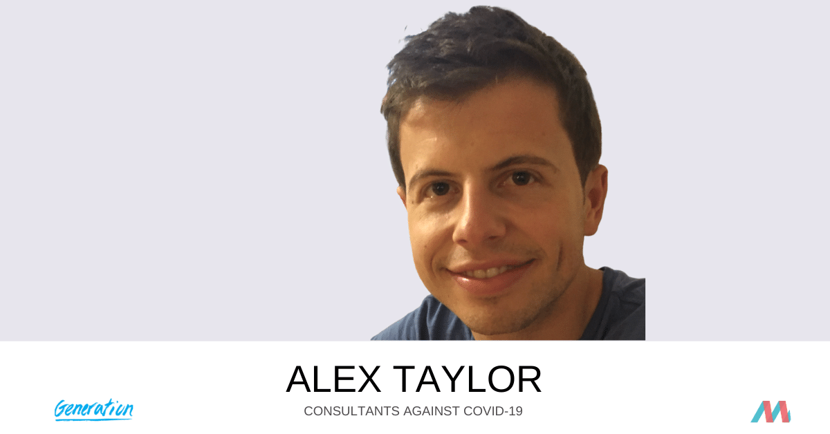 Consultants Against COVID-19: Alex Taylor supports Generation