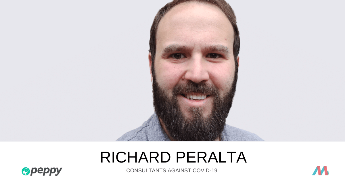 Consultants Against COVID-19: Richard Peralta supports Peppy Health