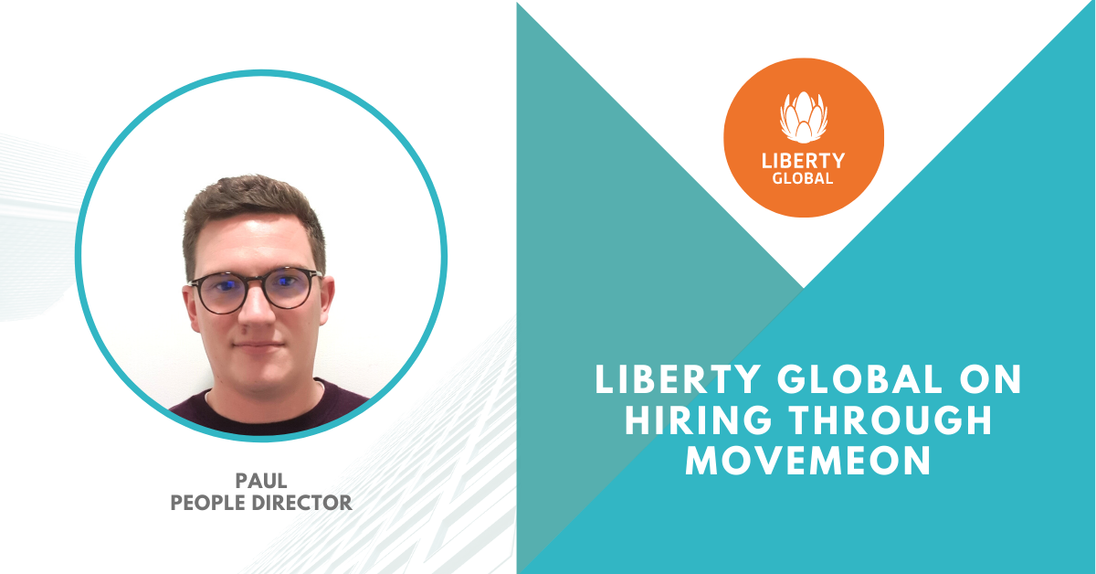 Hiring through Movemeon: Liberty Global