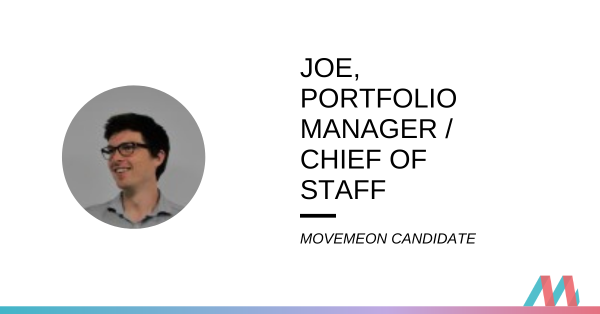 Hired – Joe explains his journey to a stealth growth investor