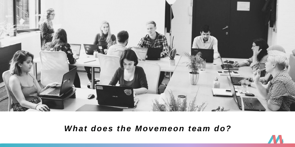 What does the Movemeon team do?