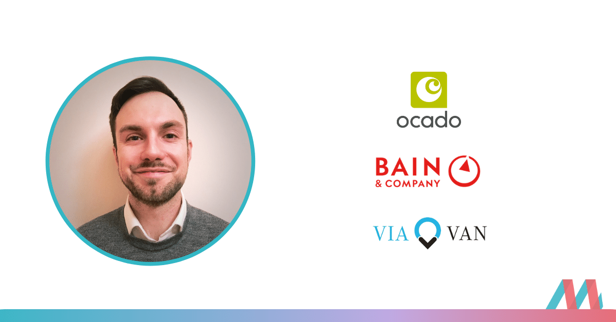 From Teach First via Ocado, ViaVan & freelance to a multinational corporation