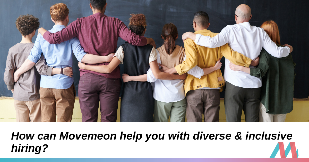 How can Movemeon help you with diverse and inclusive hiring?